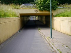 Underpasses between the A2 motorway and Amsterdam–Rhine Canal