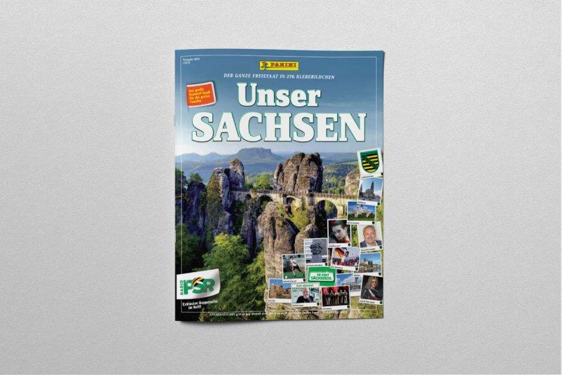 Unser Sachsen Sticker Album