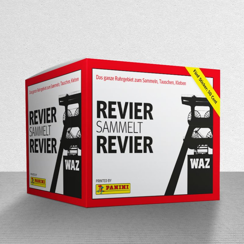 Revier Sticker Panini