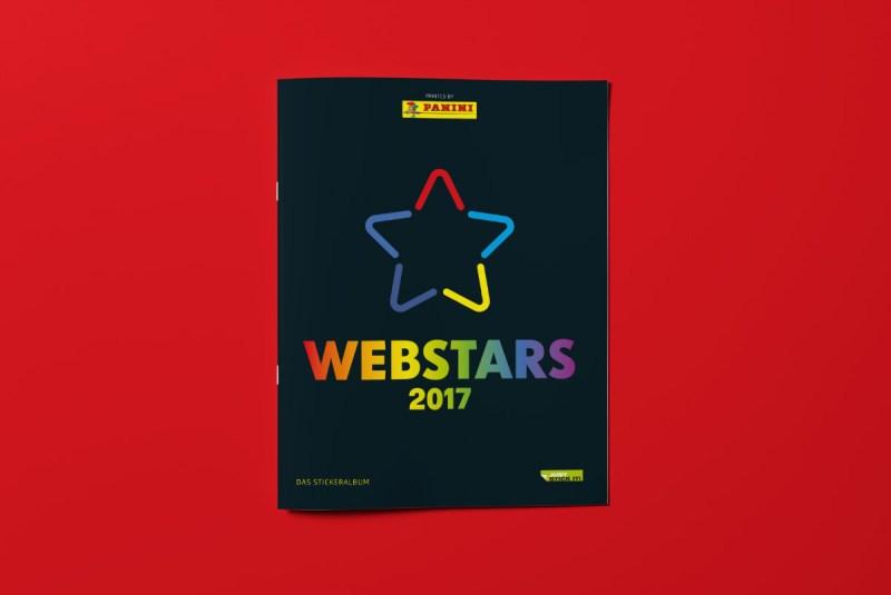 Webstars 2017 Panini-Album