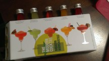 Flavored margarita kit. 'Nuff said.