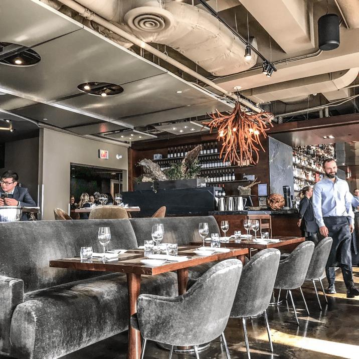 Canoe Toronto Winterlicious - Restaurant Interior