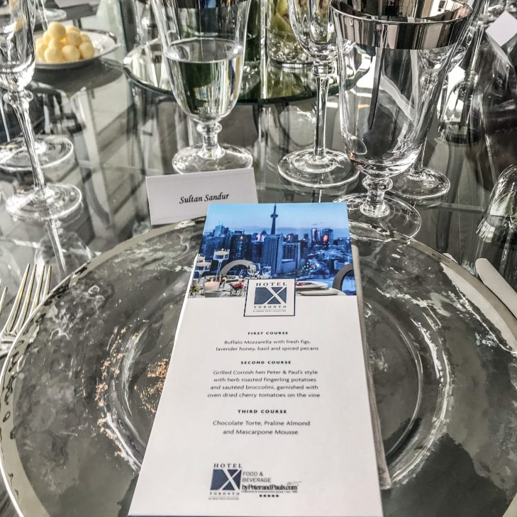 Hotel X Media Preview Luncheon