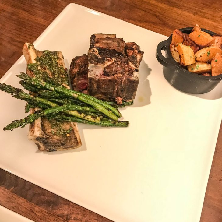 Atrio Restaurant - Conrad NYC - Bone In Tenderloin