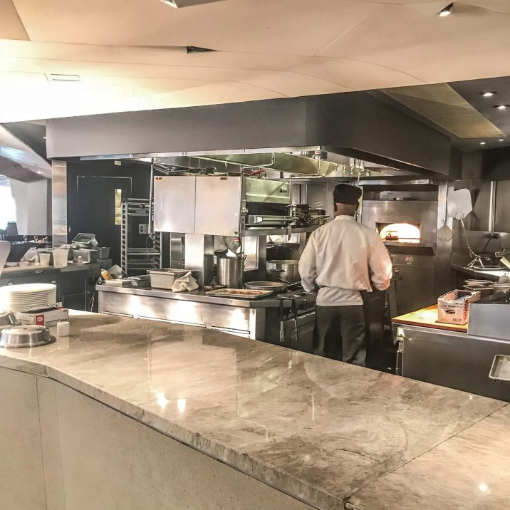Conrad New York - ATRIO - Open Kitchen