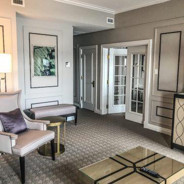 Fairmont Le Chateau Frontenac - Quebec City - Suite Sitting Area