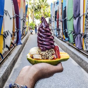 Banan - Hawaii - Oahu - Honolulu - Waikiki