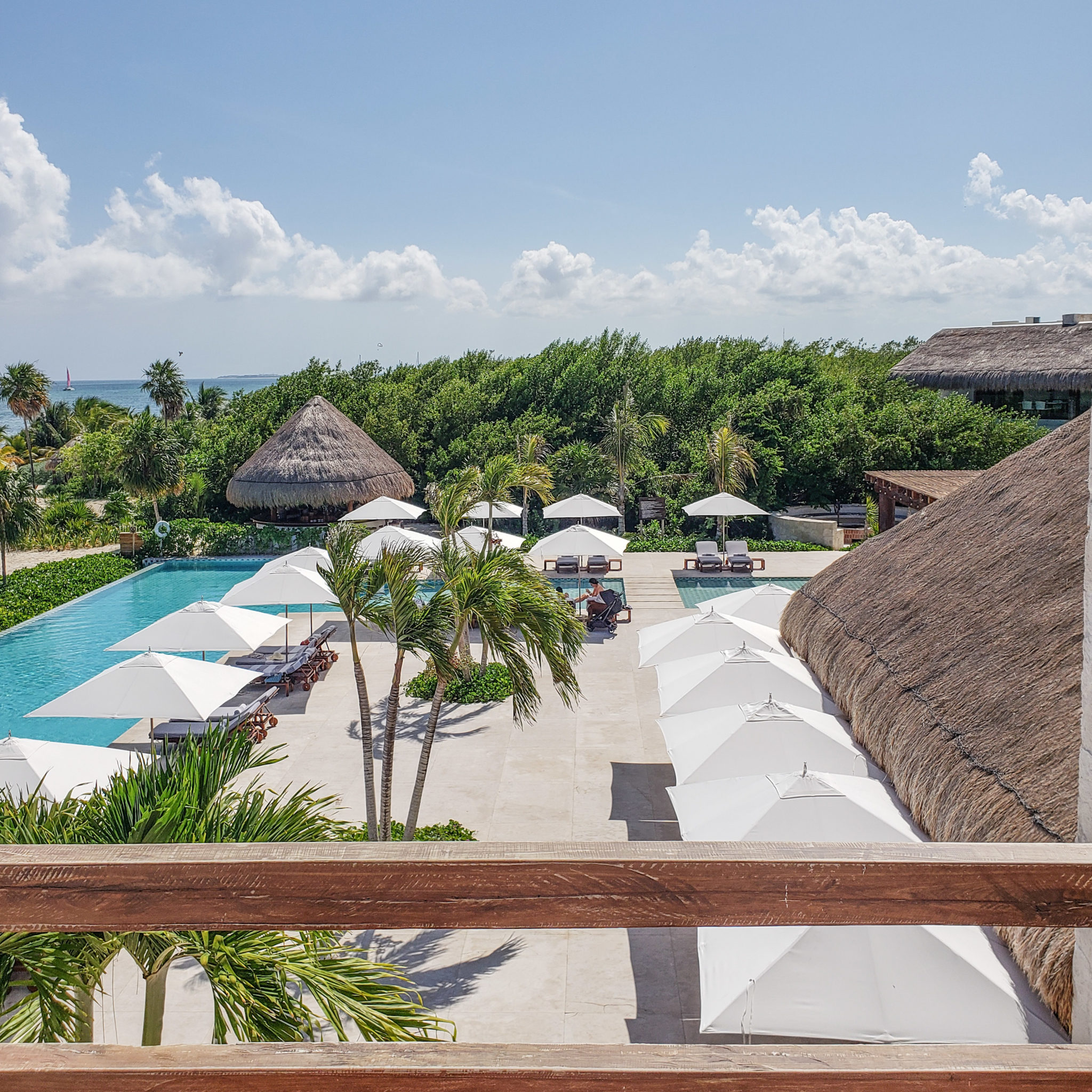 Chable Maroma Resort - Quintana Roo - Playa Del Carmen - Playa Maroma - Poolside View