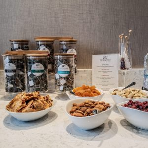 Hotel X Toronto - Luxury Resort - Guerlain Spa - Lounge - Healthy Treats