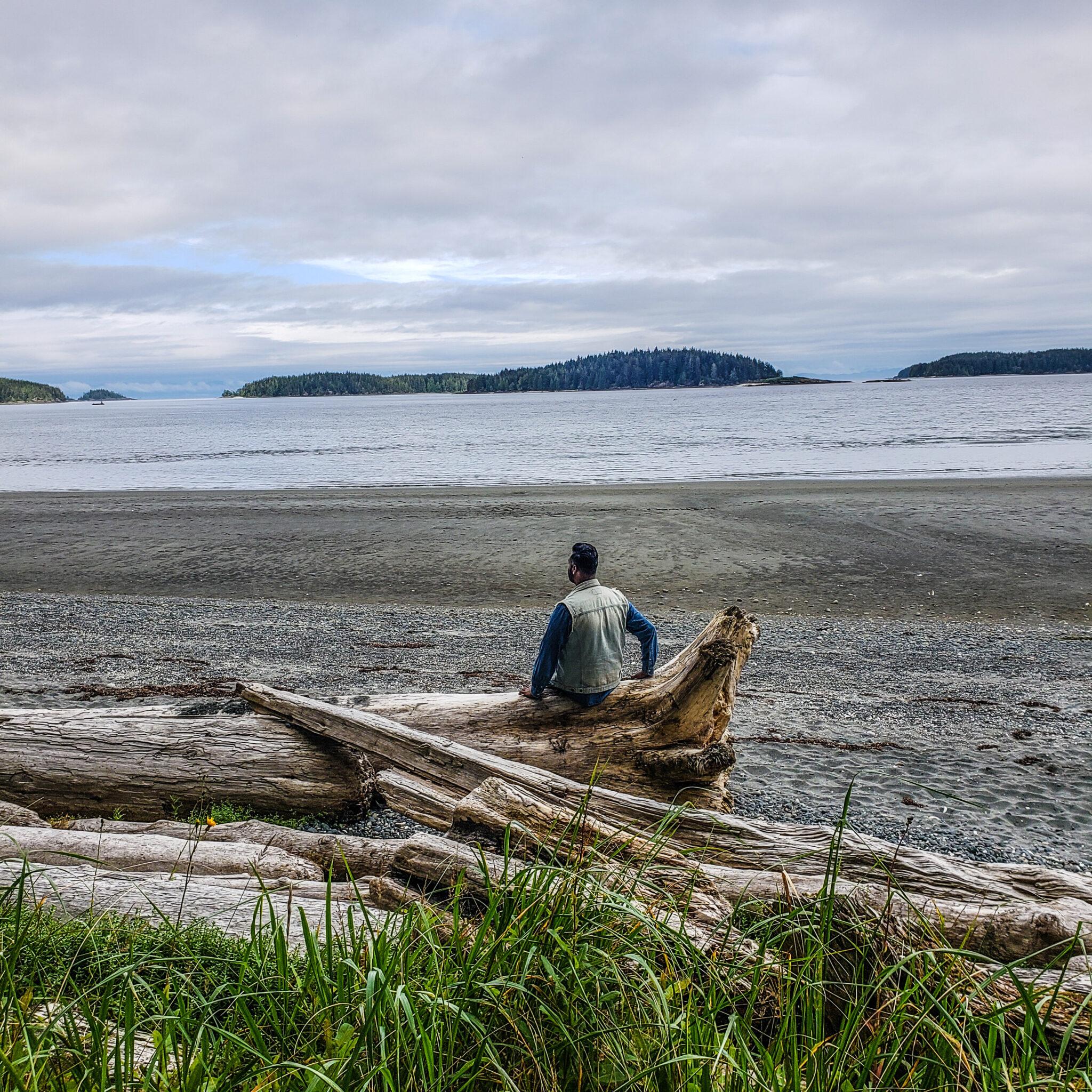 Visit Port Hardy - Vancouver Island North - Explore Canada - Hello British Columbia - Storey's Beach - Driftwood