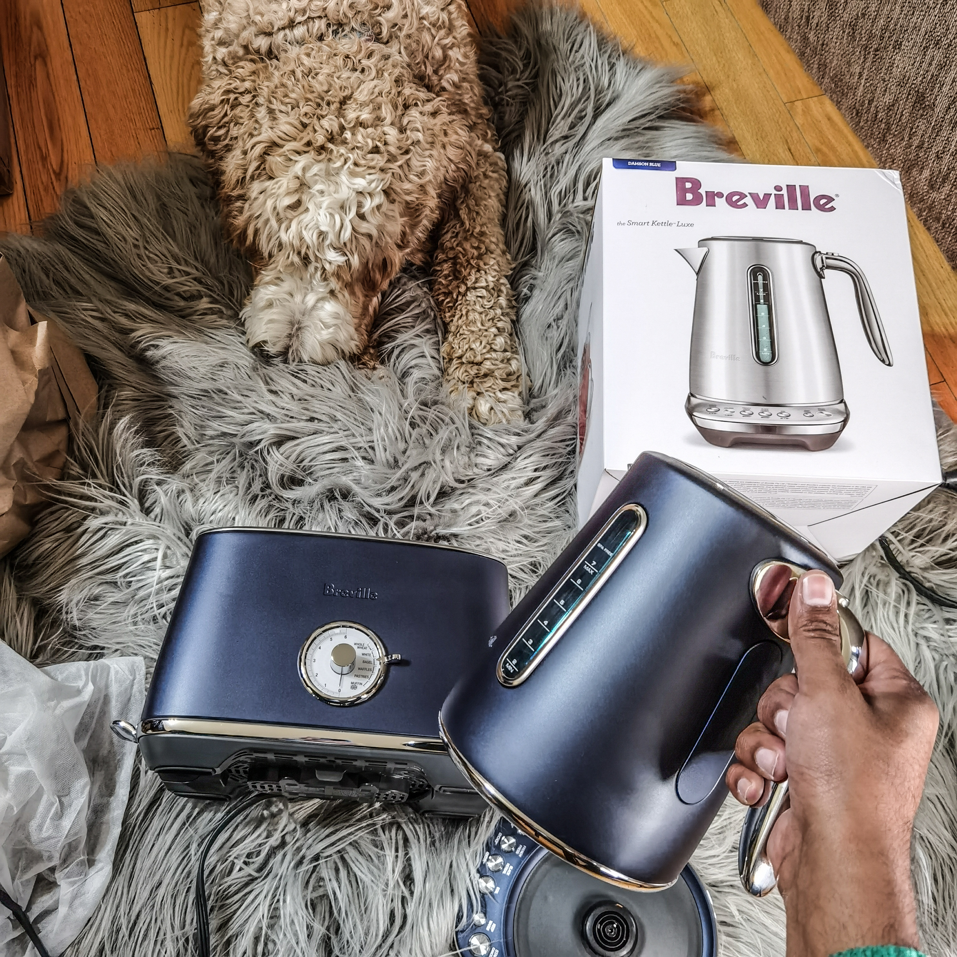 Breville Canada - Damson Blue Luxe Collection - Toast Select Luxe - Smart Kettle Luxe - Unboxing