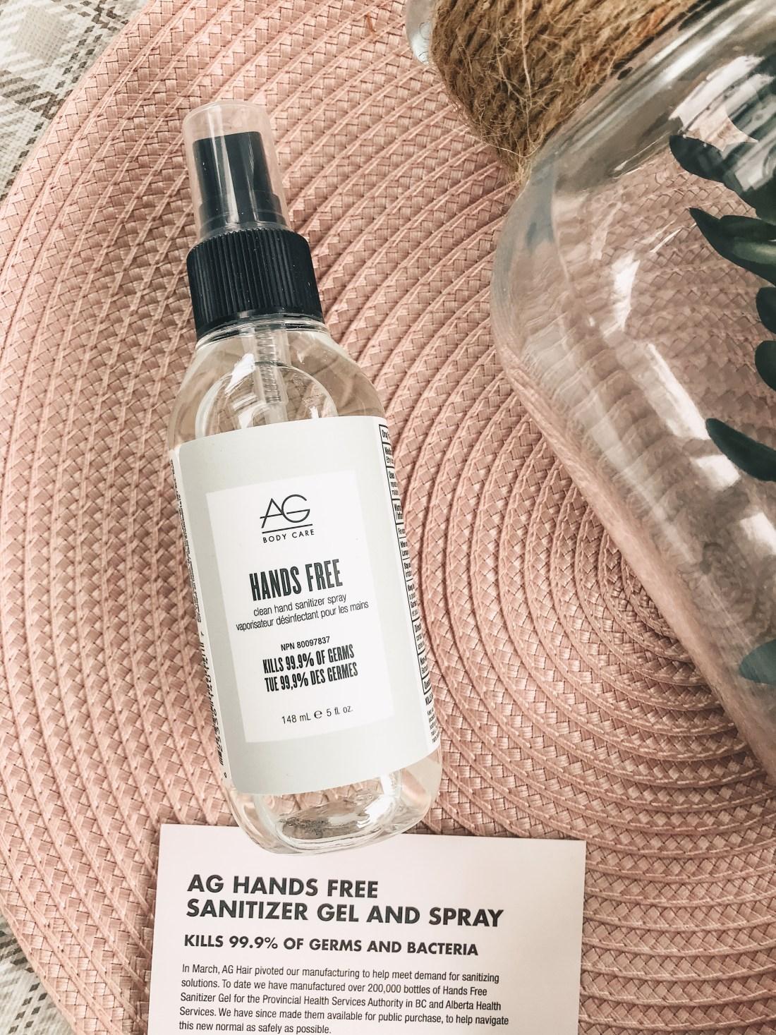 AG Hand Sanitizer Spray