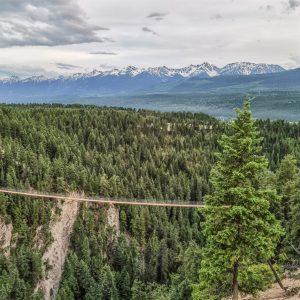 The Golden Skybridge - Mountain Views