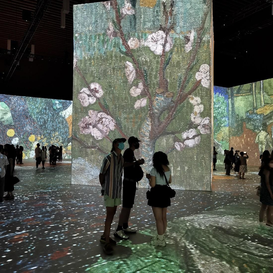 Interactive Immersive Van Gogh Exhibit Vancouver Waterfront