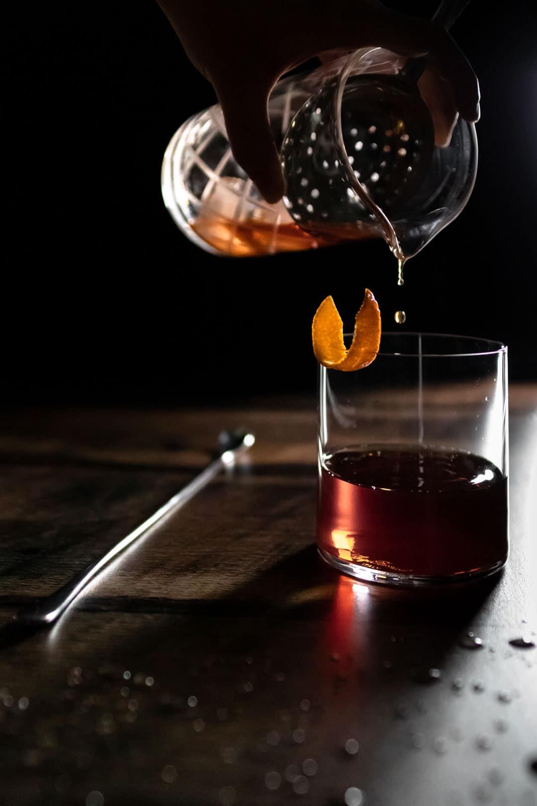 Cynar Toronto (Amaro Old Fashioned)
