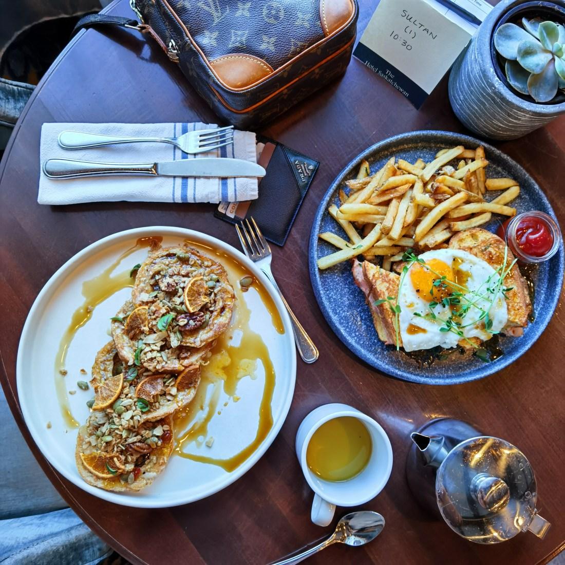 Delicious Brunch at Circa 27 Lounge - Hotel Saskatchewan - Regina Saskatchewan