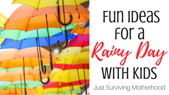 Everything You Need For A Rainy Day With Kids
