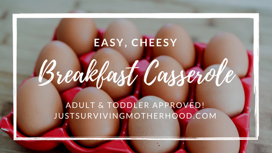 Easy, Cheesy Breakfast Casserole…