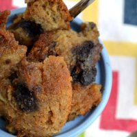 What To Do With Leftover Muffins...Make Bread Pudding!