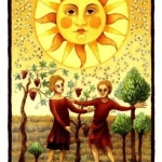 The Sun - Royal Tarot Deck