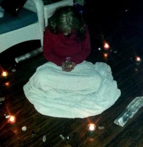 Janice Sending Distance Healing