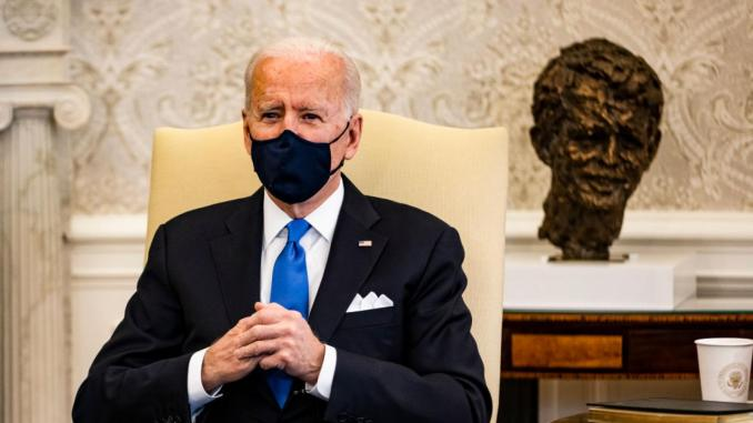 President Biden on March 3, 2021