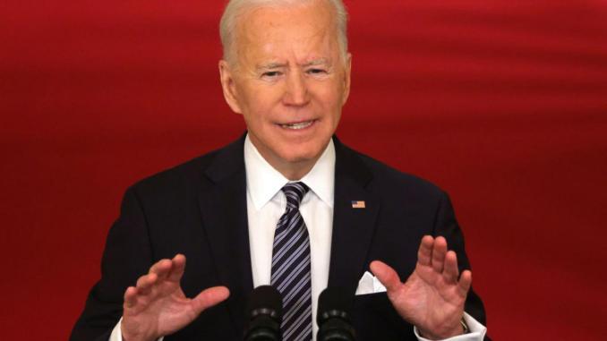 President Biden on March 11, 2021
