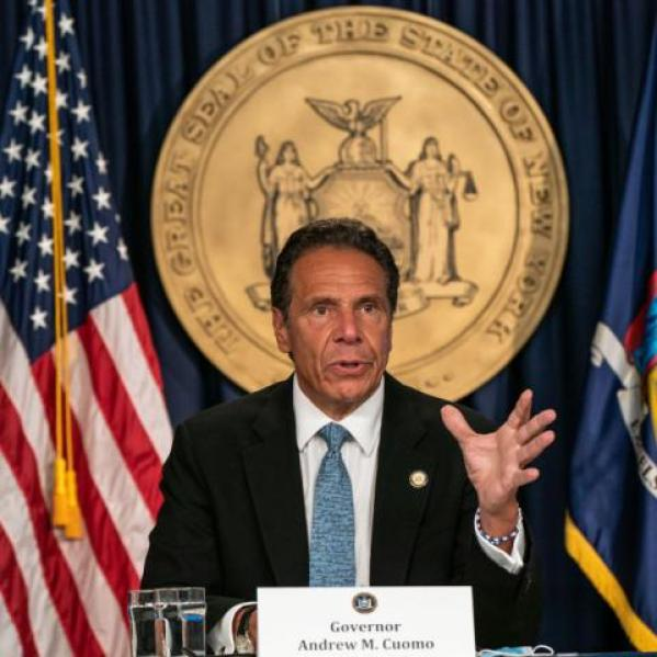 NY Gov. Cuomo holds a COVID press briefing, Jul. 23