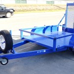 Sissor Lift Plant Trailer Hire Industry JUST TRAILERS ENGINEERING