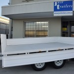 Flat Deck Farm or Mine Trailer , 2000 KG. JUST TRAILERS ENGINEERING