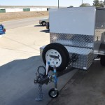 MOBILITY SCOOTER TRANSPORT ENCLOSED CUSTOM JUST TRAILERS ENGINEERING