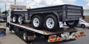 Heavy Duty High Side Tandem Trailers Regional Council Orders supplied by JUST TRAILERS ROCKLEA