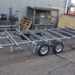 JUST TRAILERS DESIGNED Portable Room Chassis 4800 x 2450