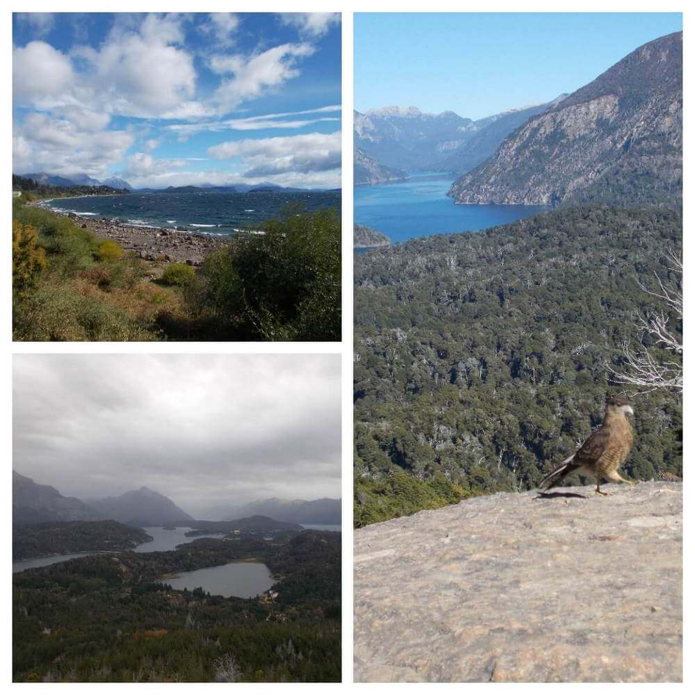 Some of the views over Bariloche