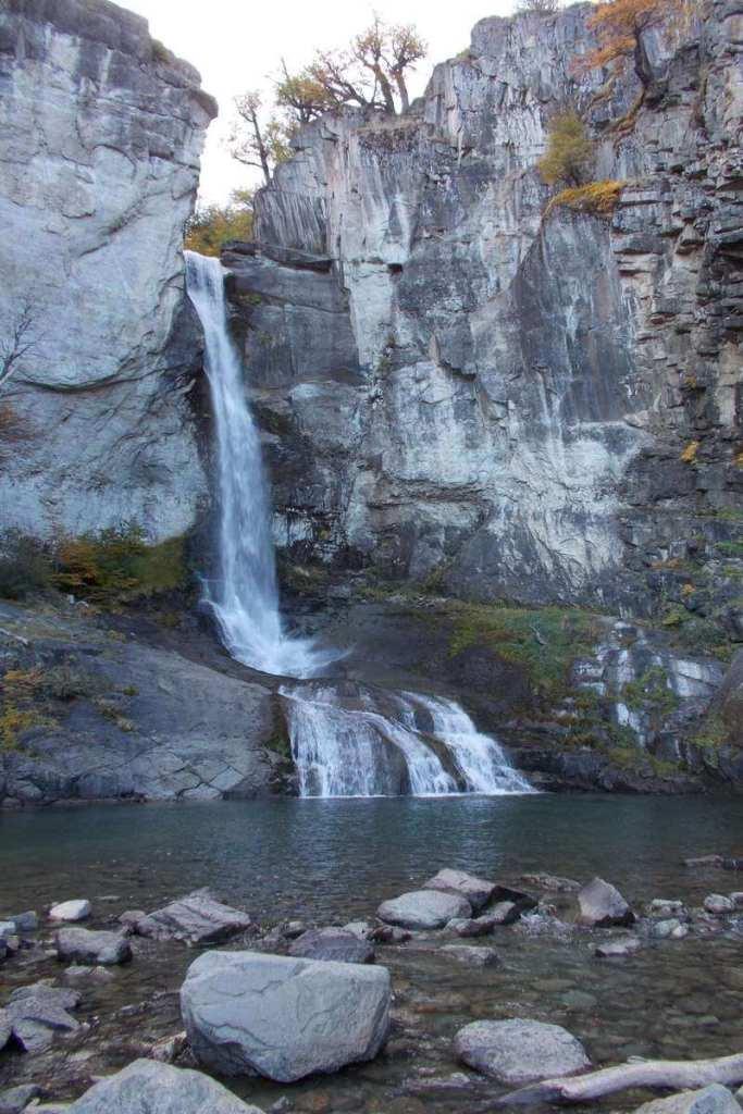 Waterfall just outside El Chalten