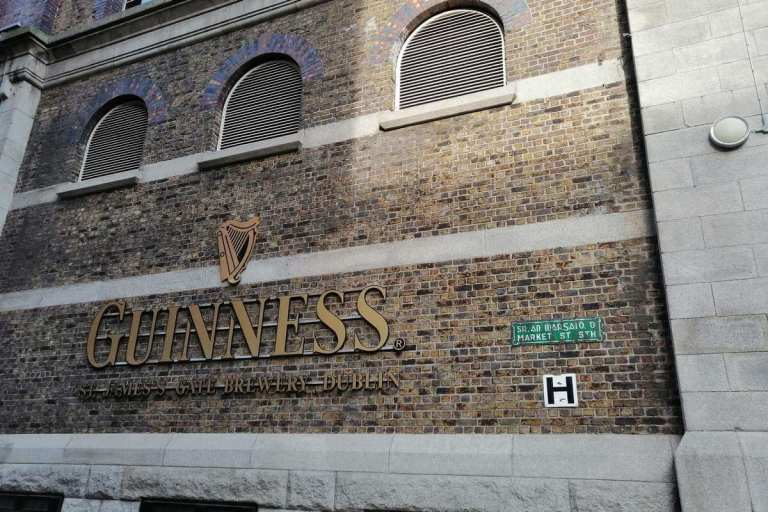 Entrance to the Guinness Storehouse, Dublin