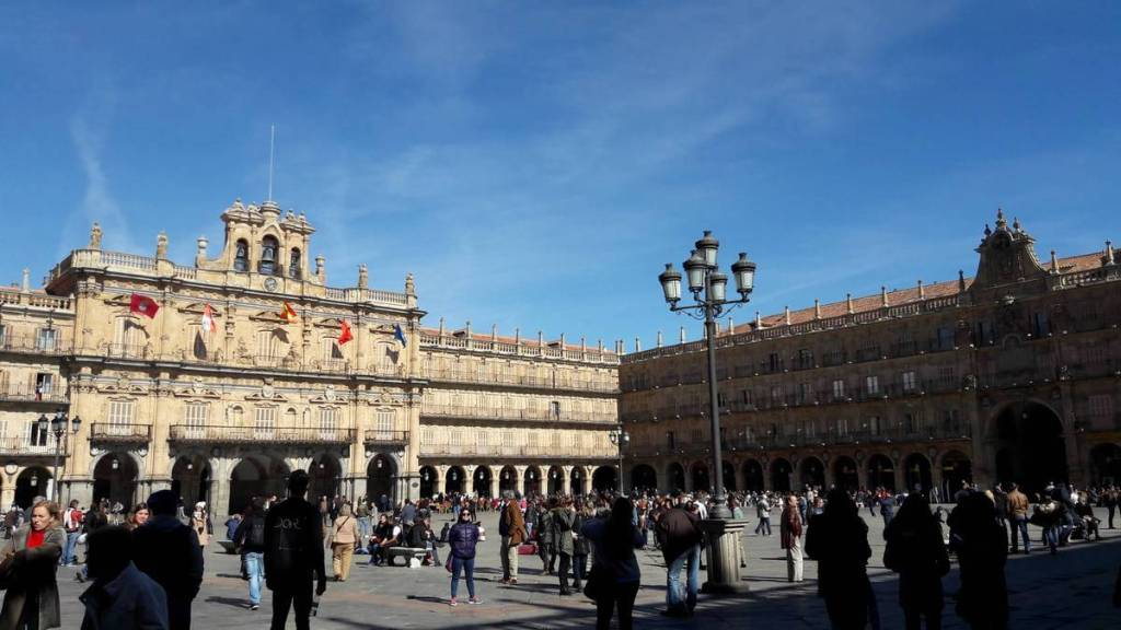 Salamanca's Plaza Mayor square