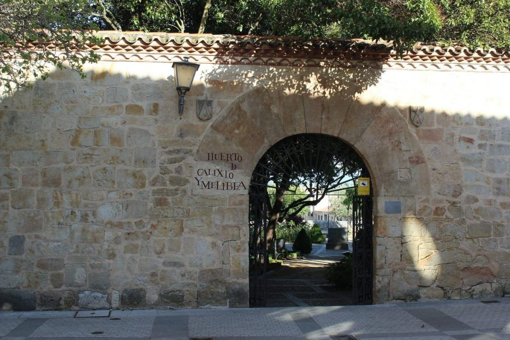 Entrance to one of Salamanca's many parks and gardens