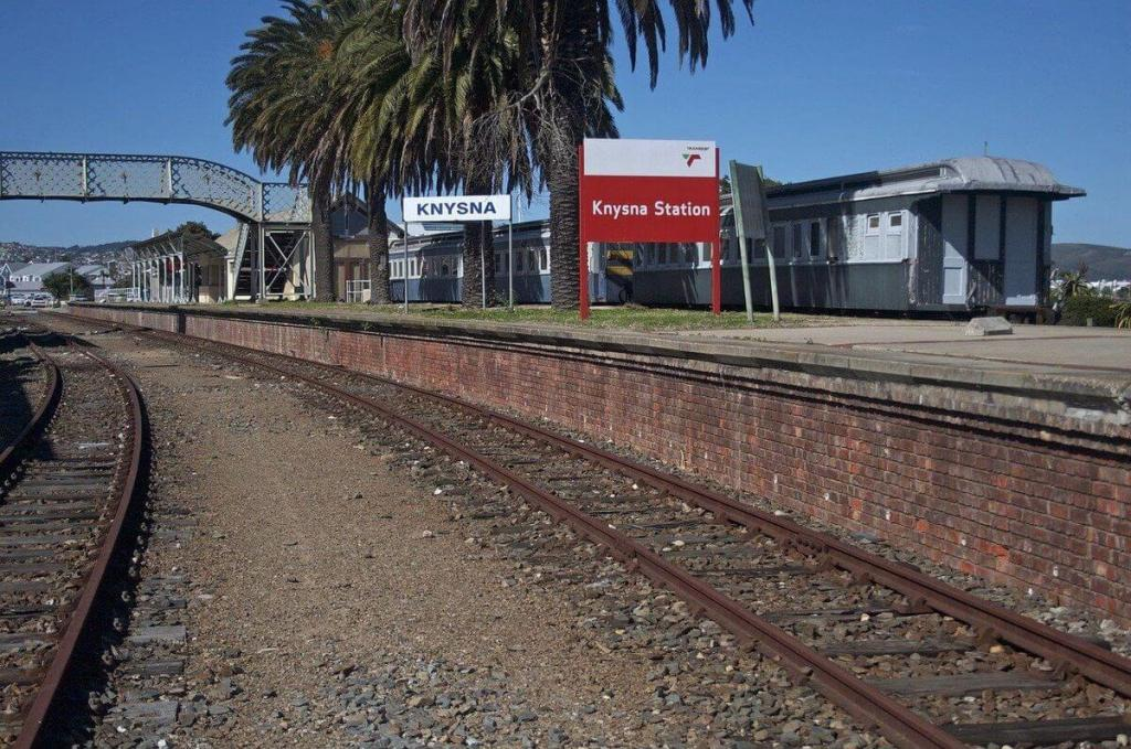Knysna Train Station on the Garden Route
