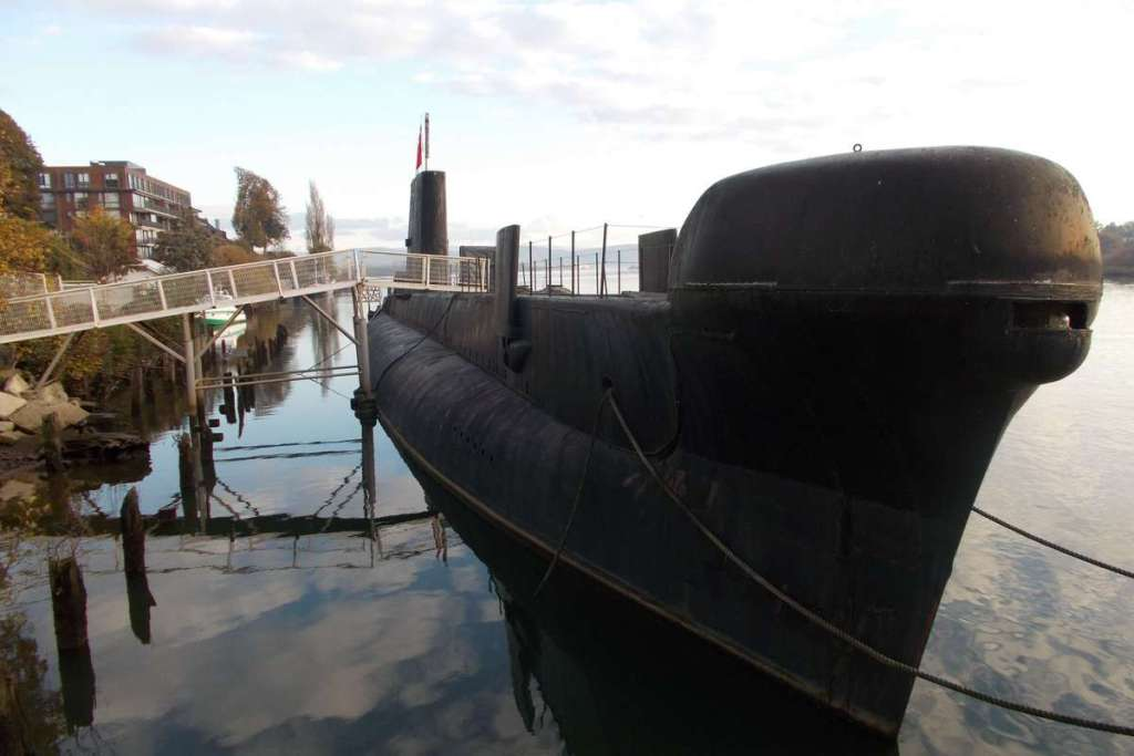 Submarine in Valdivia
