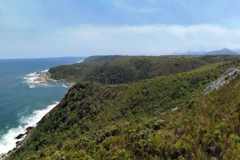 Tsitsikamma National Park coastline