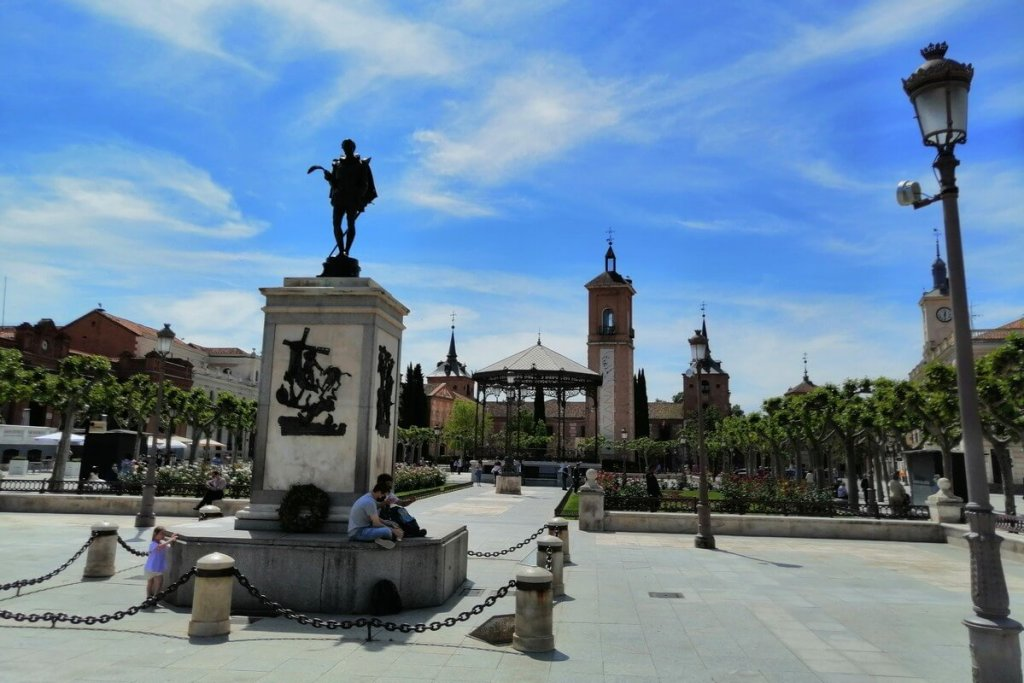 Day trips from Madrid Alcala de Henares