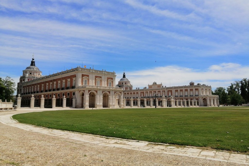 The royal palace in Aranjuez