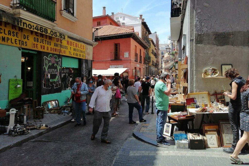 El Rastro Sunday market