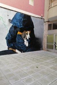 Santander street art on Calle Valliciergo
