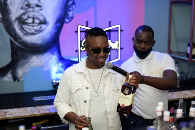 Ballantine's X DJ Shimza for 'There's no Wrong Way' campaign