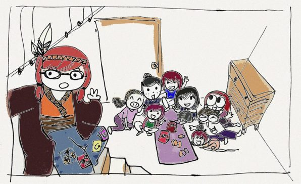 maifeo maipheo and her friends
