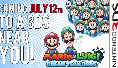Mario and Luigi Featured Banner