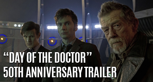 Day Of The Doctor Featured
