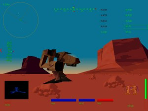mechwarrior 2 gameplay